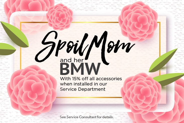 Spoil Mom and her BMW