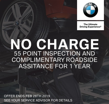 55-Point Inspection + 1 Year Roadside Assistance