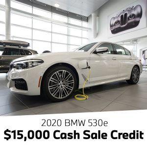 Cash Offer 530e