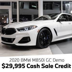 Cash Offer M850i